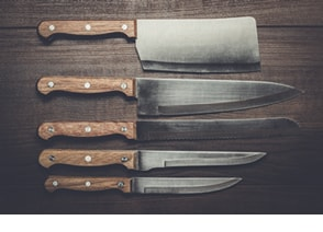 how to clean a knife proper knife care