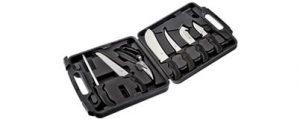 Elk Ridge 9 PC Big Game Cutlery Kit W- Case