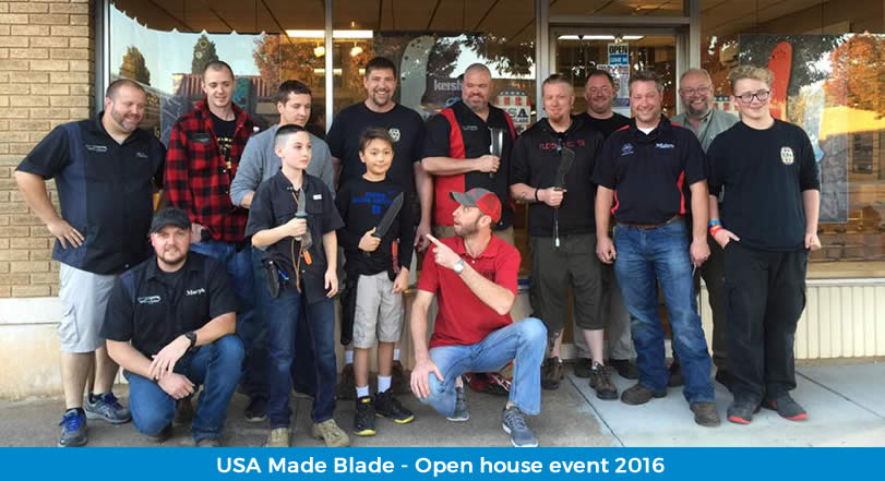 usa made knives - open House event