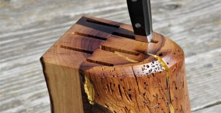 How to Clean a Knife Block Properly