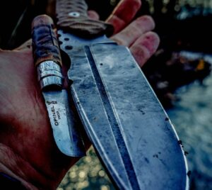 How to Stonewash a Knife