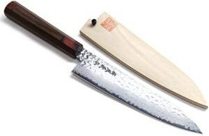 YOSHIHIRO Hammered Japanese Chef's Knife