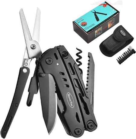 Rovertac Multitool Camping Survival Knife
